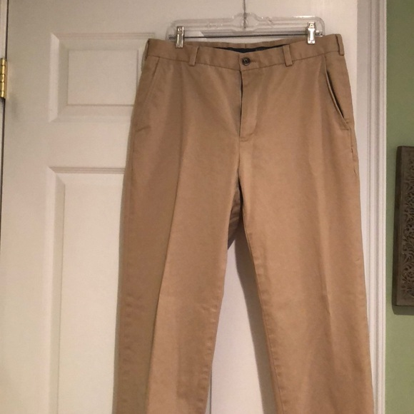 Brooks Brothers Other - Brooks Brothers Clark Chino Khaki Trousers W35/L30